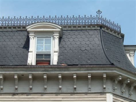 sloped roofs edge roofing