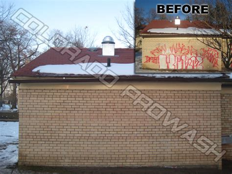 best way to remove graffiti from brick