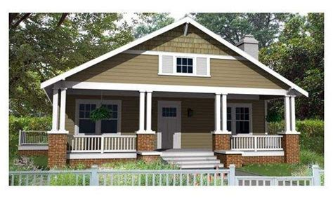 house plan bungalow small bungalow house plans craftsman bungalow plan 1584sft plan 461 6 small house