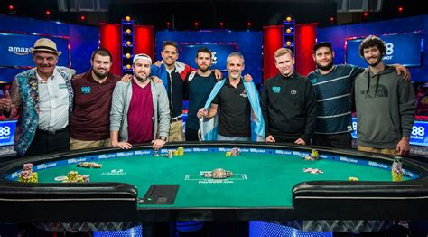 nine players set for wsop event table