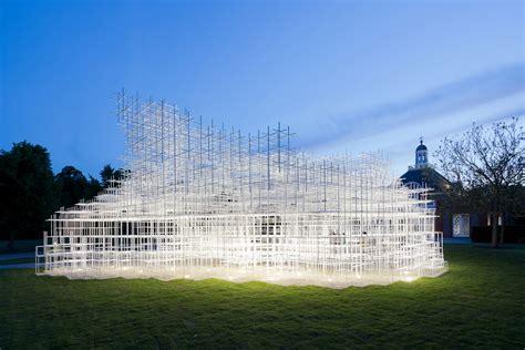 pavillon pavillion architect sou fujimoto brings his summer pavilion to the