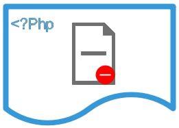 delete file  php   unlink function