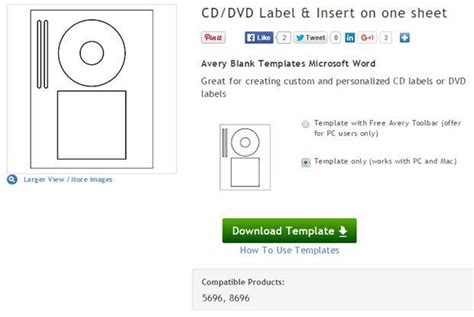 avery dvd template create your own cd and dvd labels using free ms word templates