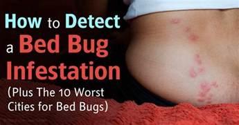 Bed Bug Infestation Map Bed Bug Infestations Soaring In The Us