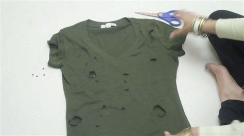 Ripped Cut Out Navy ripped up army 183 how to cut up a top 183 dressmaking on cut out keep