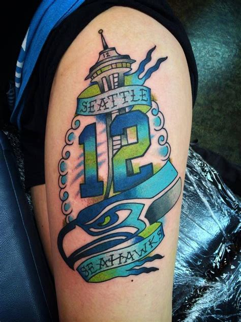 seahawk tattoos 1000 images about seattle seahawks s on