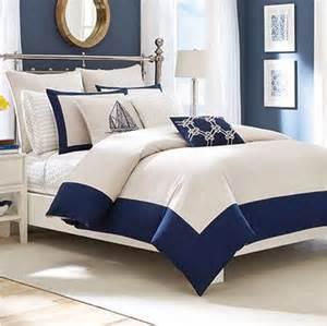 nautical navy blue and white comforter nautical snob