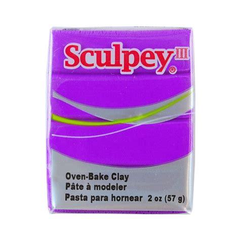 Sculpey Polymer Clay sculpey iii polymer clay violet 2 oz block