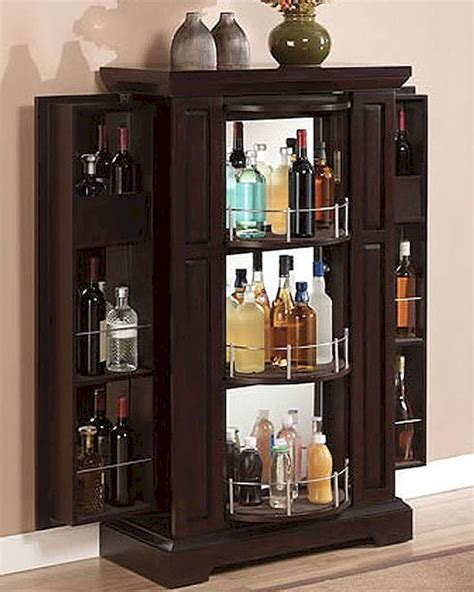 Small Bar Cabinet Ideas Furniture Bar Cabinet Mini With Purple Wall Design And Small Windows Also Grey Chair For Modern