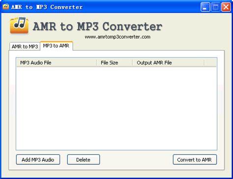 format file amr good amr gt mp3 converter