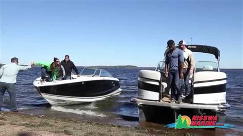 runabout deck boat premier pontoon ptx vs runabout youtube