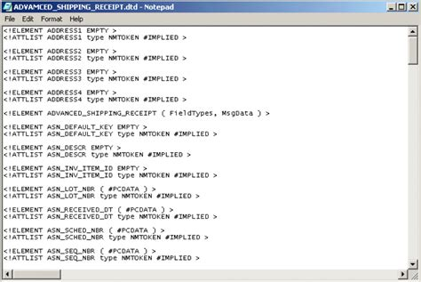 tutorial xml dtd generating a dtd for the xml file developing otds for