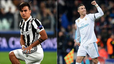 ronaldo juventus dybala dybala v ronaldo juventus and real madrid hitting top form at the right time
