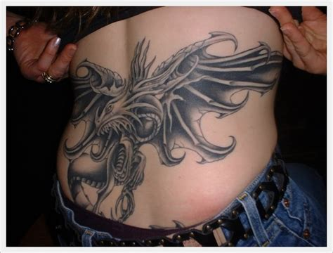 dragon tattoo designs for back 45 lower back tattoos for
