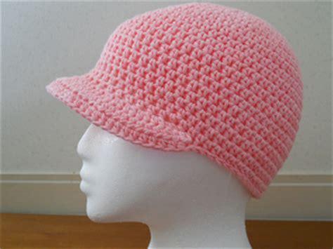 Win Win Crochet Cat Shape Hat ravelry crochet hat with brim pattern by teresa richardson