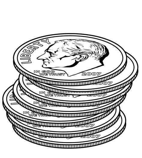 dime clipart dime clipart www pixshark images galleries with a