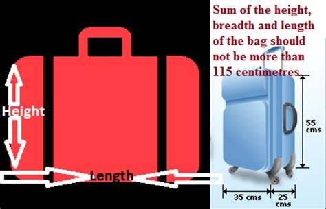 Allowed Cabin Baggage Size by Flyer S Club Baggage With Goair Booking