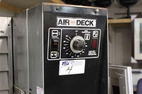 Air Deck by Garland Air Deck Gas Single Door Pizza