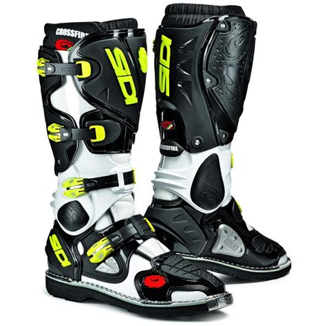 sidi crossfire motocross boots sidi crossfire motocross boots sidi cross white yellow