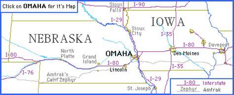 omaha nebraska usa map come to omaha