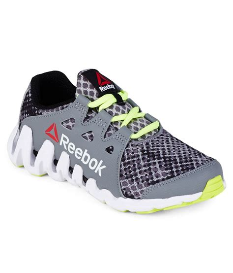 Jual Reebok Zigtech Big N Fast reebok zigtech big n fast gray sports shoes for available at snapdeal for rs 2520