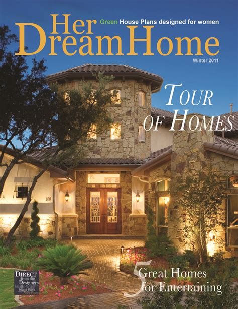 houses magazine tour of homes latest issue of her dream home magazine