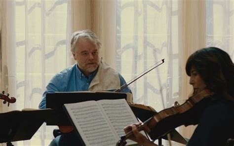 philip seymour hoffman string quartet israeli director proves a lord of the strings with world