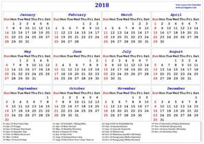 Calendar 2018 Printable With Holidays India 2018 Calendar Printable Calendar 2018 Calendar In