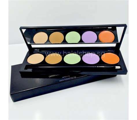 Makeover Camouflage Concealer Palette Murah halal cosmetics singapore makeover camouflage