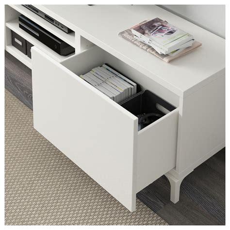 ikea besta drawers best 197 tv bench with drawers white selsviken high gloss