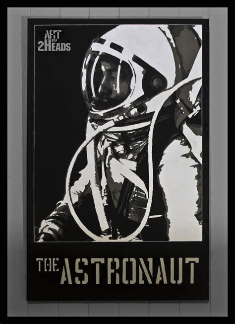 astronaut art stencil pics about the astronaut by 2heads illu stencils pinterest the