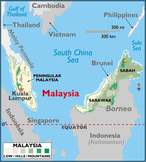map of malaysia malaysia travel info and travel guide tourist destinations