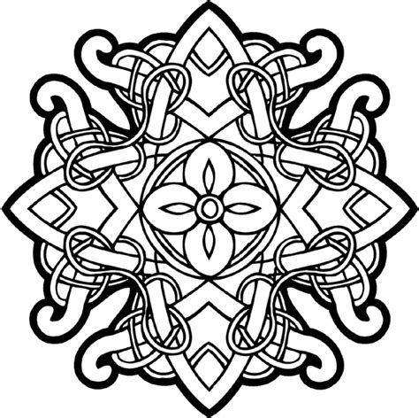 Signspecialist Com General Decals Celtic Intricately Celtic Knot Coloring Pages