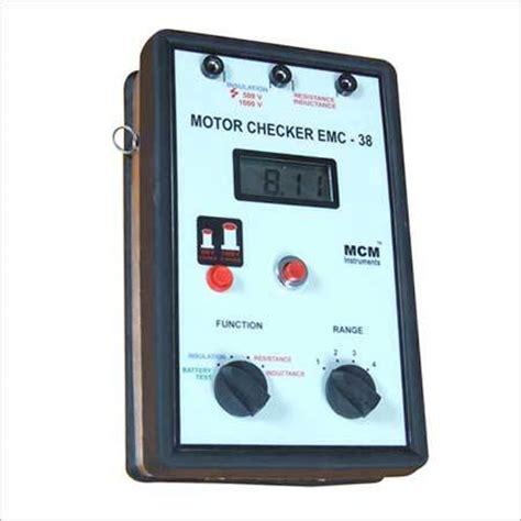 emc motors digital motor checker emc 38 digital motor checker emc