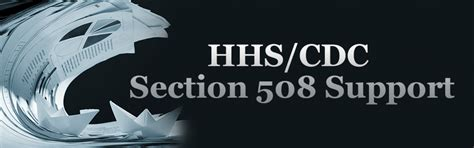 Hhs Cdc Section 508 Support New Editions Consulting Inc
