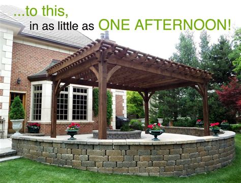 pergola plans kits plan for a carefree easy diy project 16 x 28 timber frame pergola western timber frame