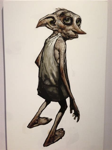 dobby house elf dobby the house elf concept art mike fantasy characters pintere