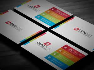 modern business card design templates multicolor modern business card template 187 cardzest