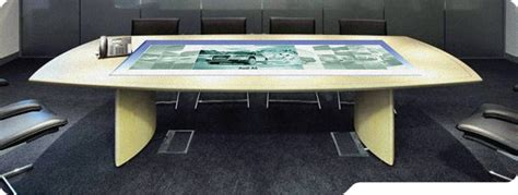 Interactive Meeting Table Yoursurface Interactive Meeting Table