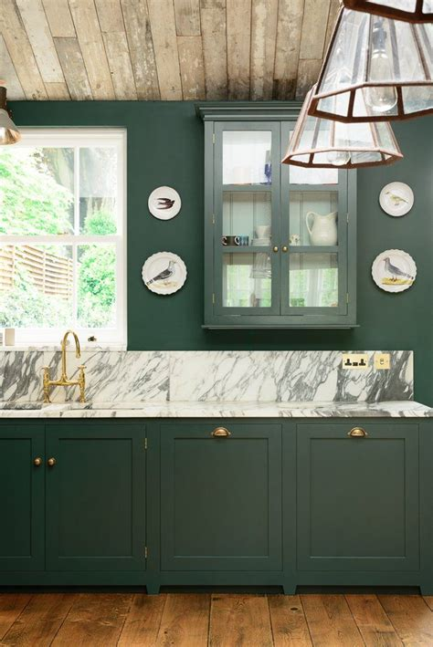 kitchens with shelves green 25 best ideas about green kitchen on pinterest green