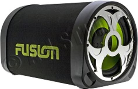 fusion en   active tube enclosure car subwoofers