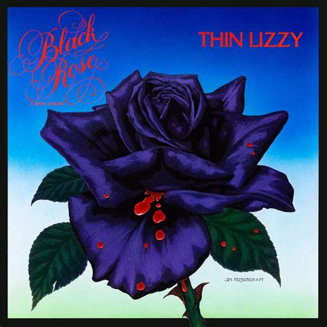 black rose with back album cover jim fitzpatrick