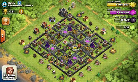 layout coc yg bagus base th 9 terbaru dan terkuat 2015 semua tentang clash