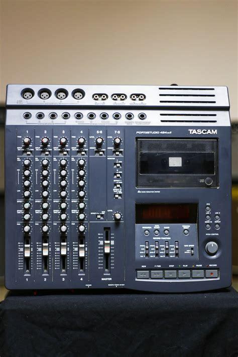 tascam portastudio cassette tascam portastudio 424 mkii 4 track cassette recorder