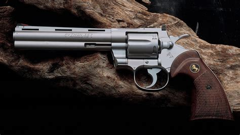 6 colt python revolver hd wallpapers backgrounds