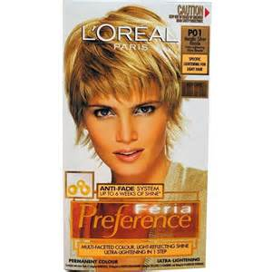 feria hair color shades l oreal feria 3d preference hair colour choose your shade