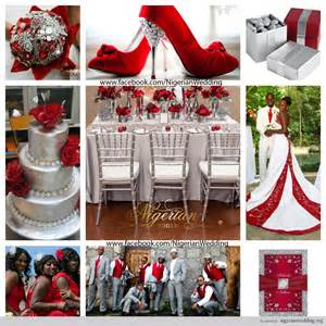 Wedding colors red and silver wedding color schemes wedding themes