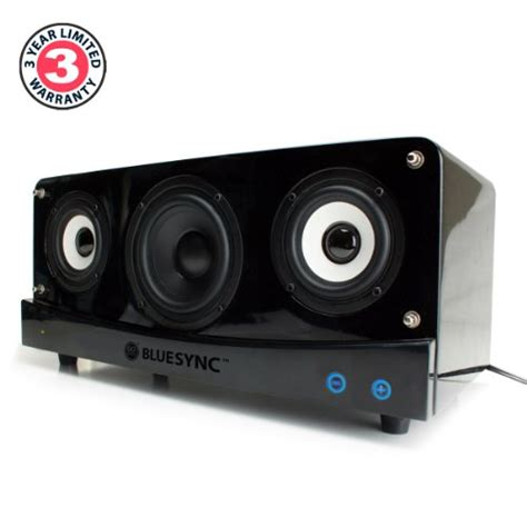 gogroove bluesync wireless bookshelf speaker and bluetooth