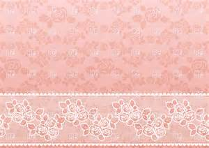 Dusty Rose Curtains Lacy Pink Retro Wallpaper With Roses Vector Image 18786