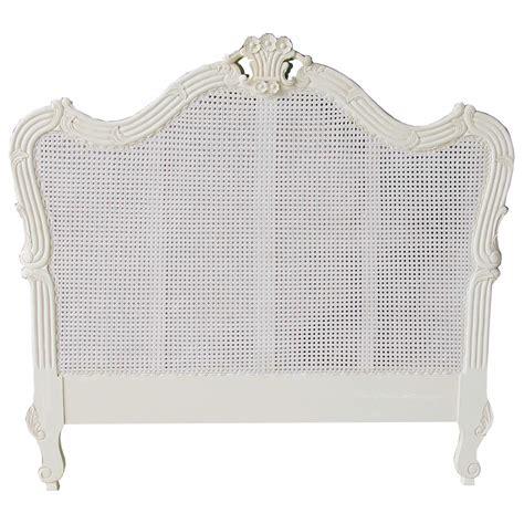 french rattan headboard french louis rattan headboard antique white french